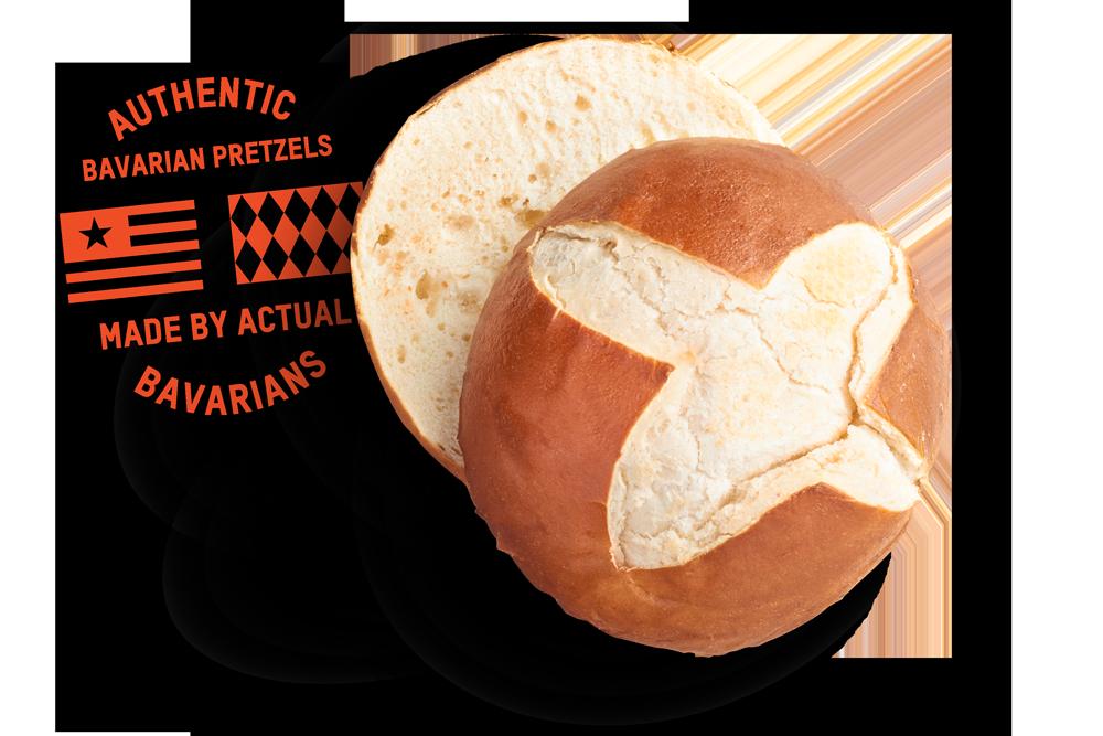Prop peller pretzels born. German clipart bavarian pretzel