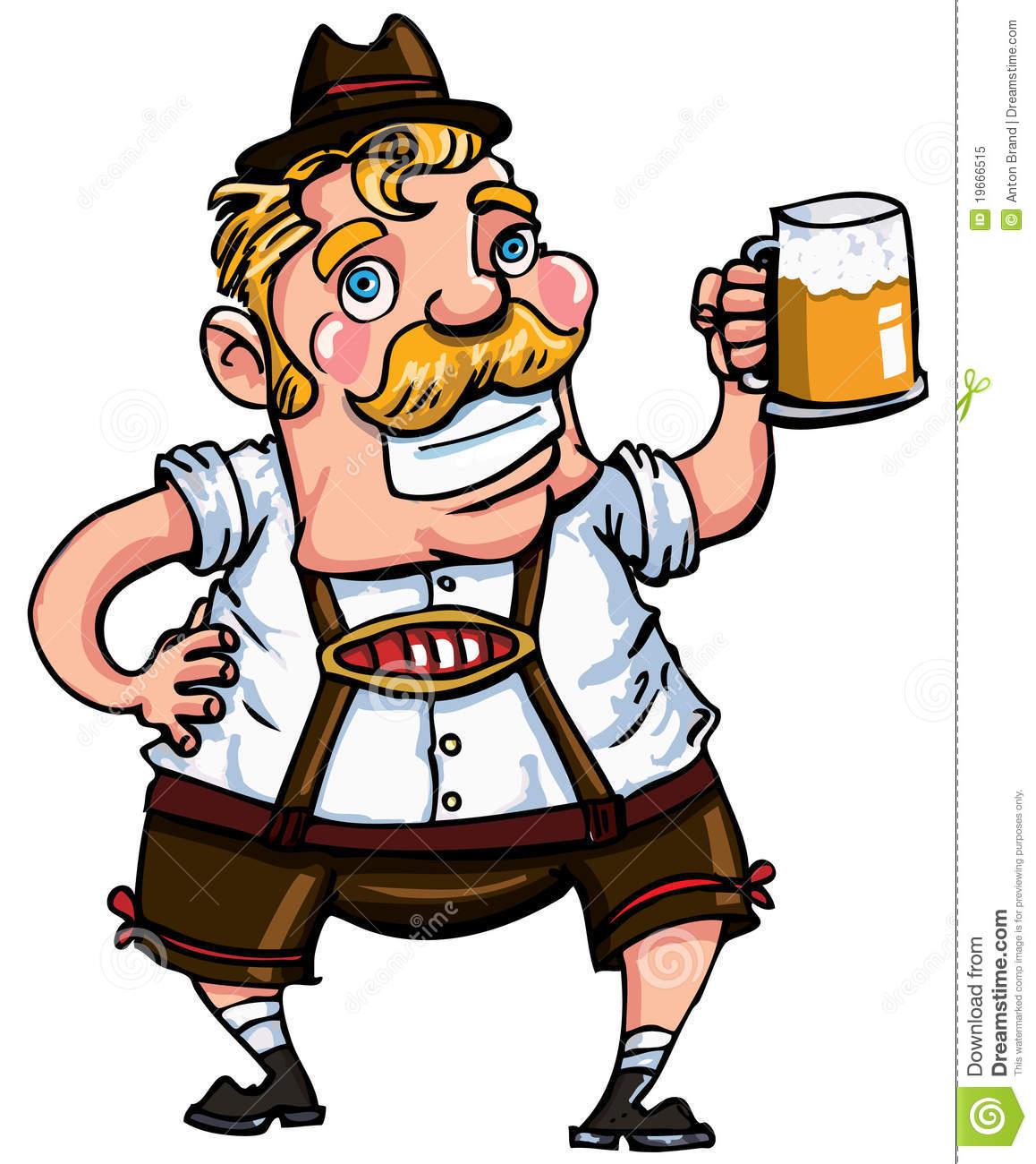 German clipart cartoon. Free download best