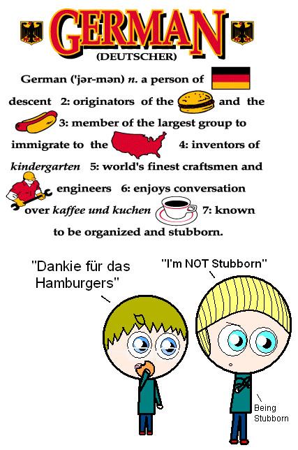 German clipart cartoon. Free people download clip