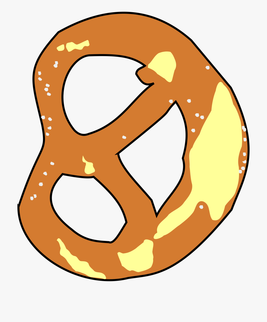 Pretzel clipart bavarian pretzel. Free brezel