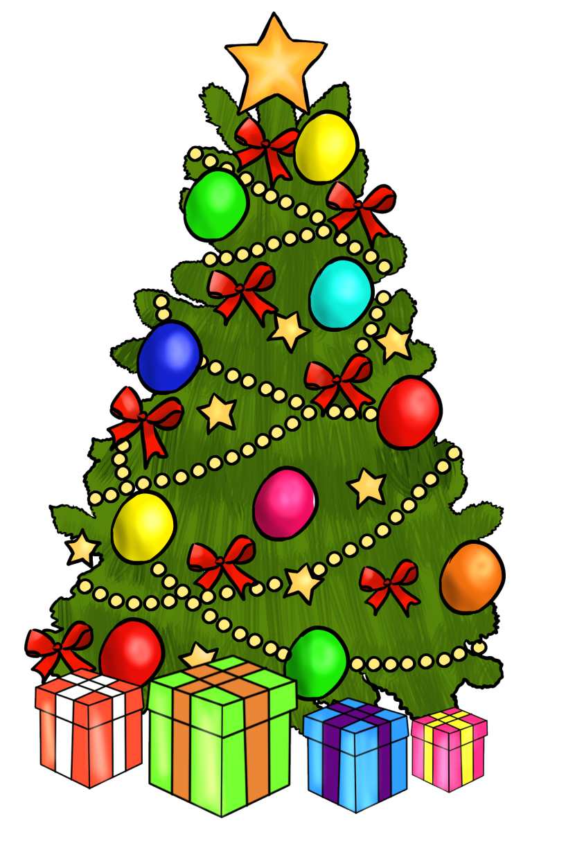 Holiday clipart christmas. Pictures clip art fun