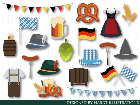 Oktoberfest clipart thing german. Germany bavaria beer clip