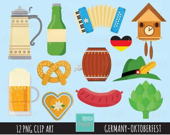 German clipart cute.  sale octoberfest germany