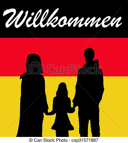 Clip art library . German clipart family german