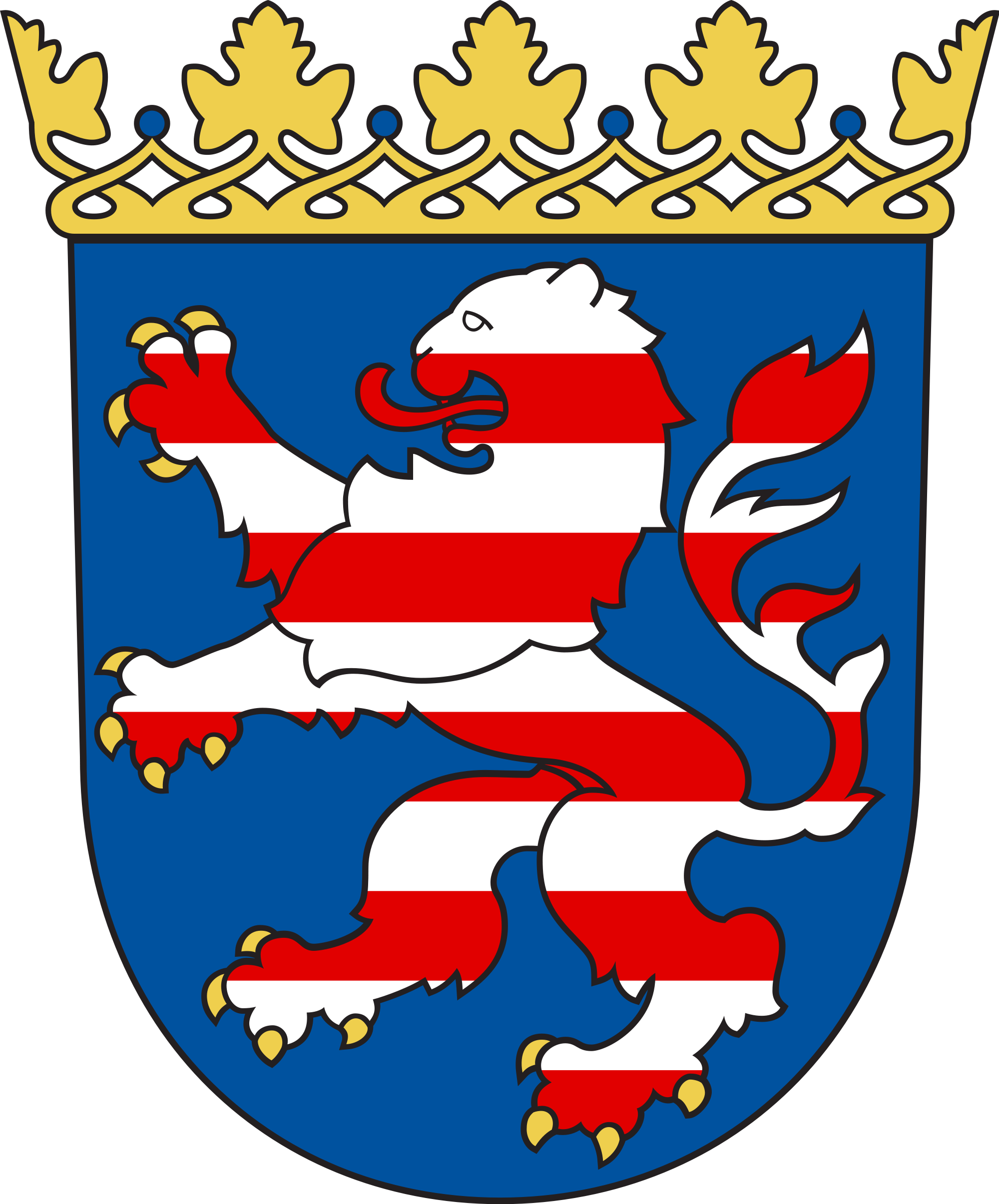 German clipart family german. Coat of arms hessen