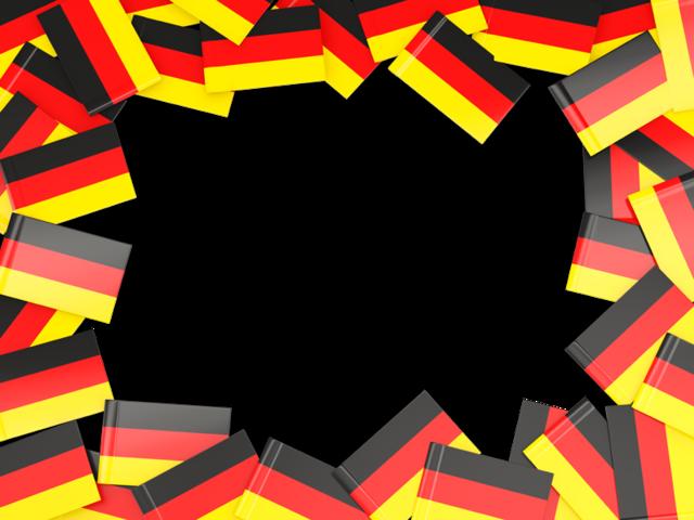 German clipart flag germany. Frame illustration of