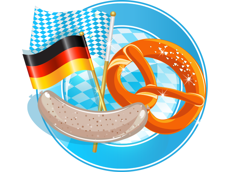 German clipart food.  collection of oktoberfest