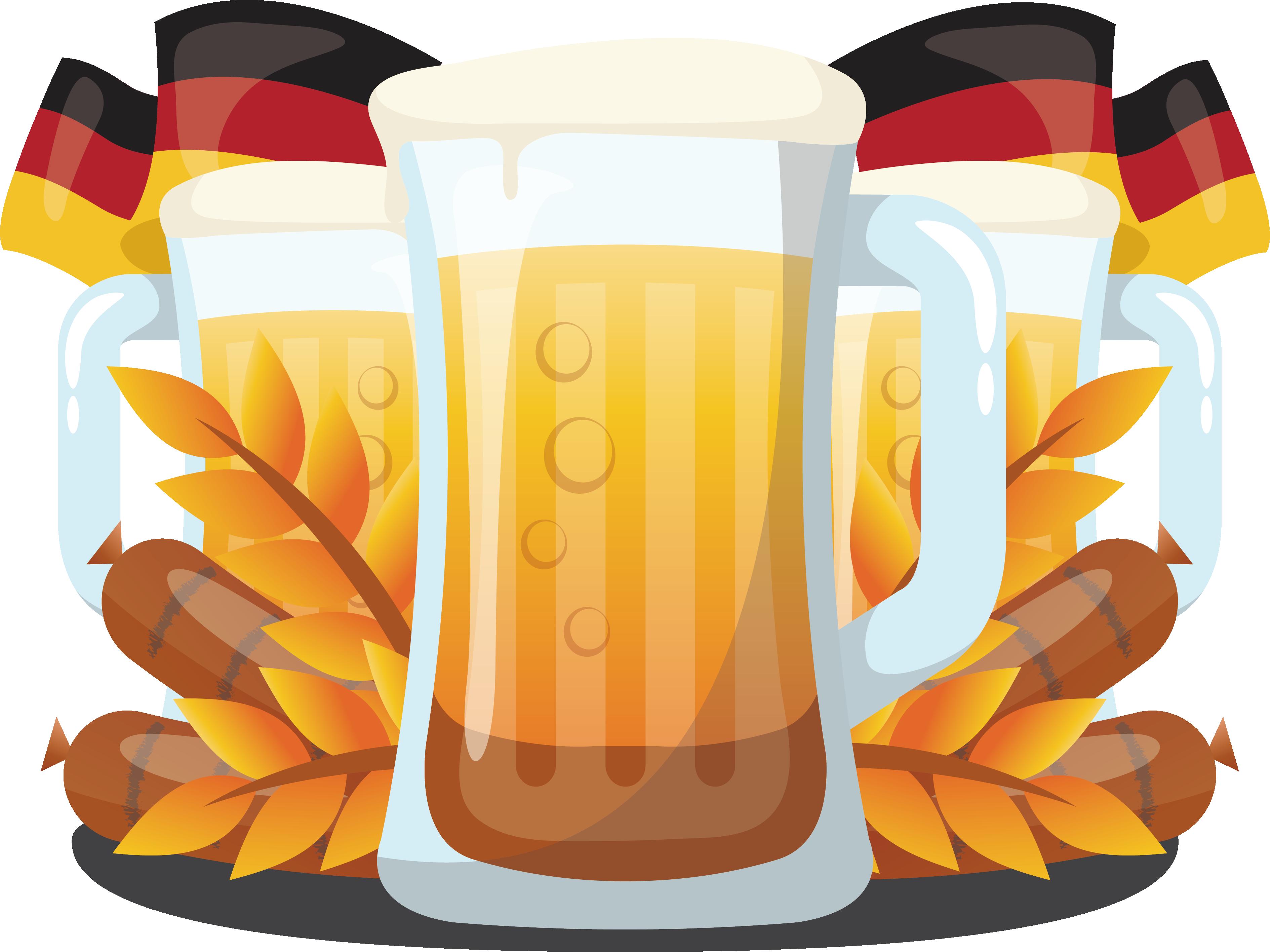 Wheat clipart beer wheat. Oktoberfest germany german cuisine