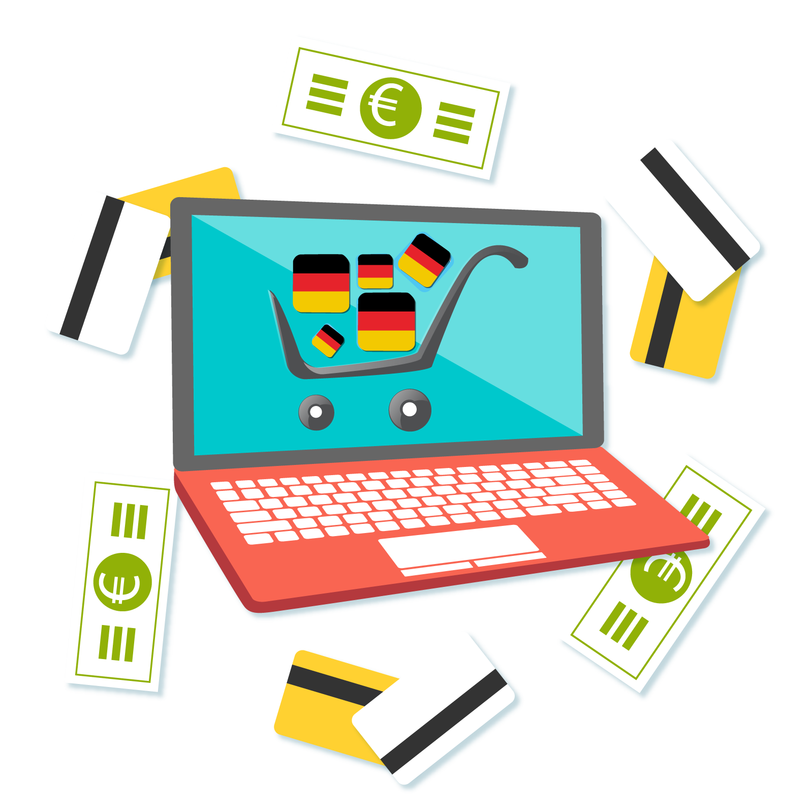 Germany clipart landscape germany. German ecommerce localization and