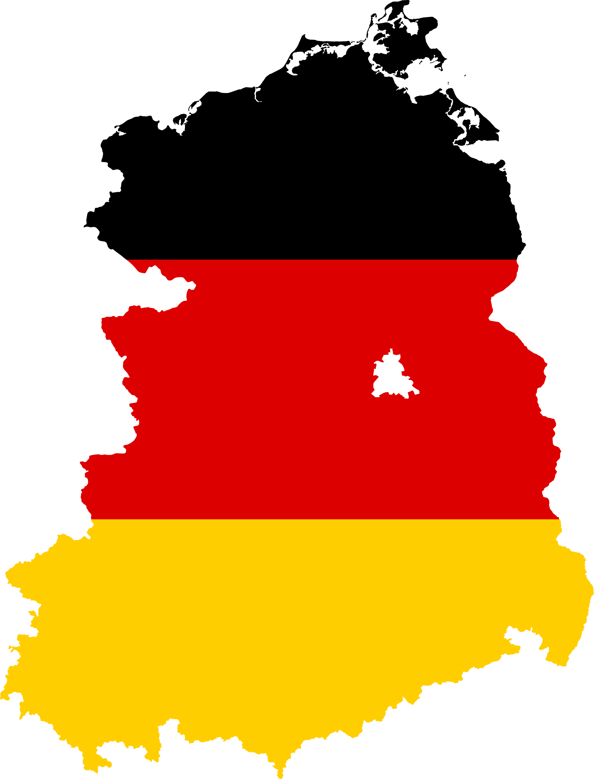 File flag of east. Germany clipart map