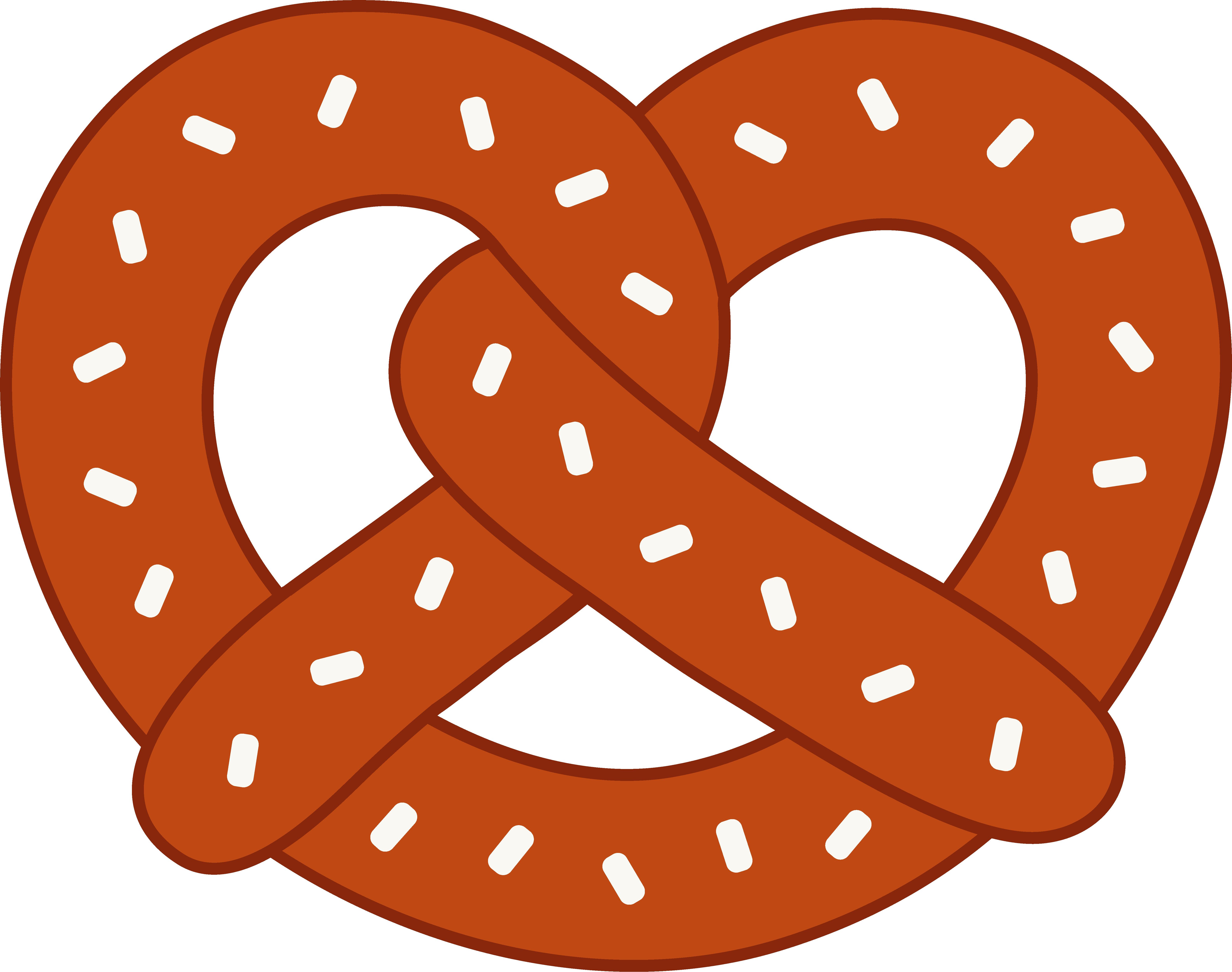 No pretzels for juristourists. Oktoberfest clipart thing german