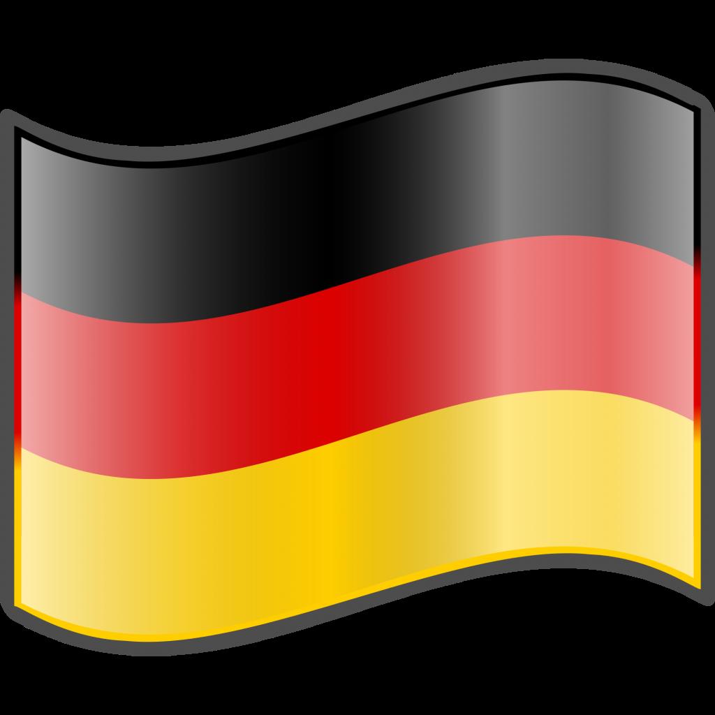 Printable flag of ninjazac. Germany clipart emoji