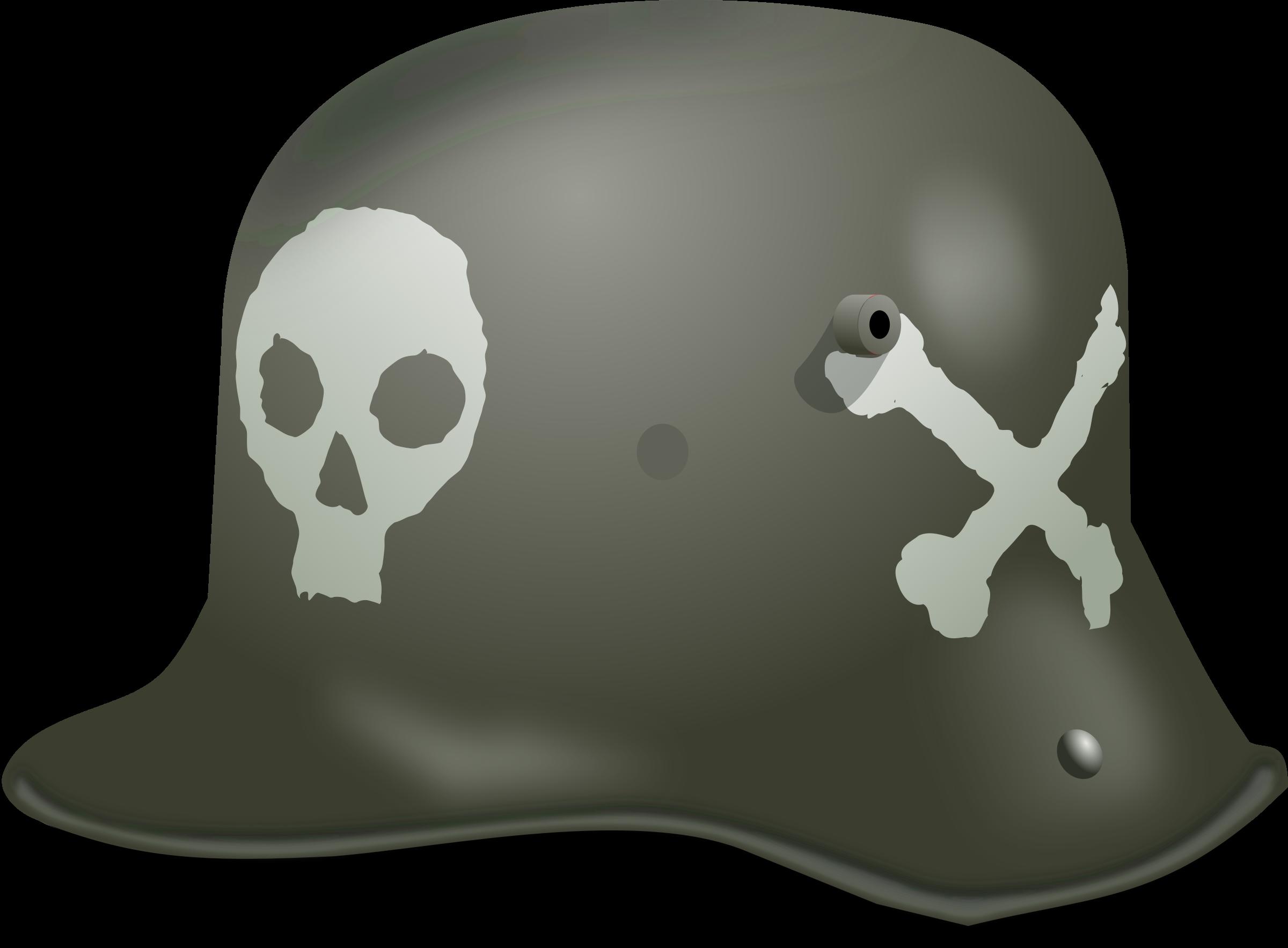 German clipart small. Stormtrooper helmet ww big