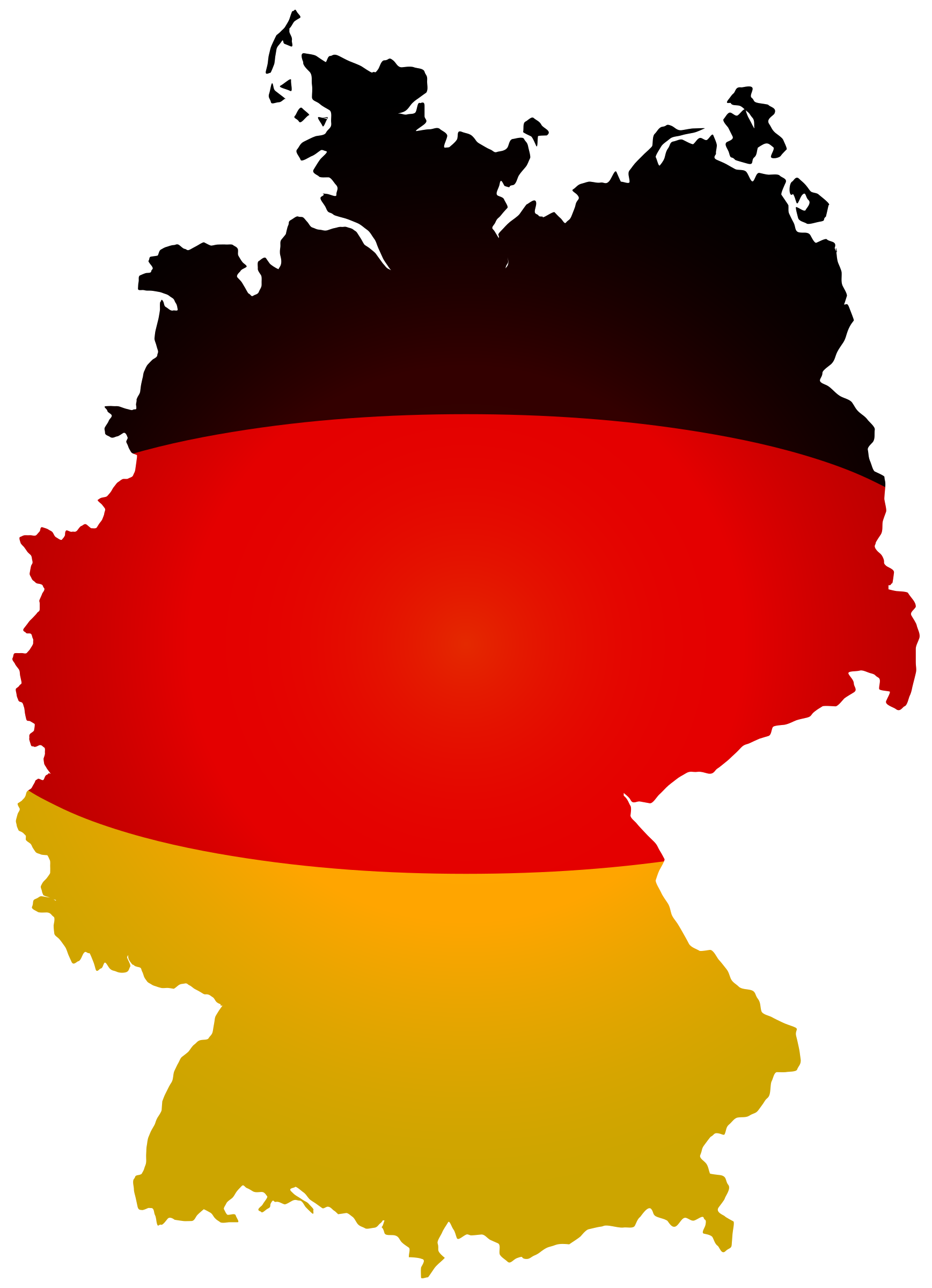 German clipart small. Germany flag map big