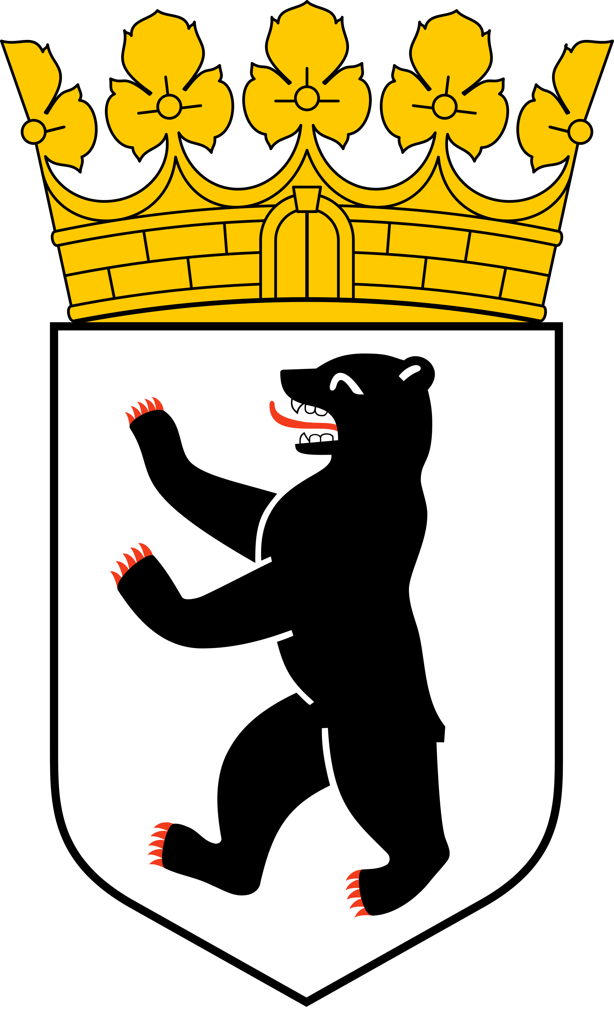 Coat of arms berlin. Germany clipart weimer