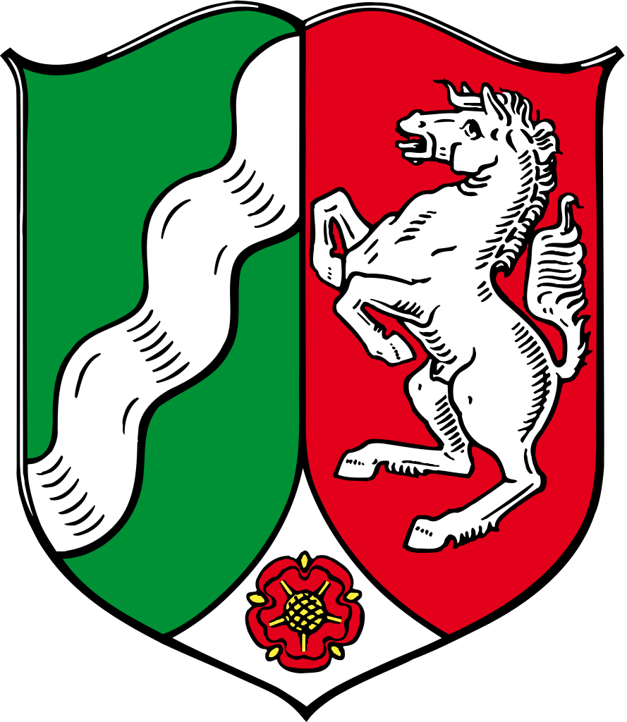 File coat of arms. German clipart wavy