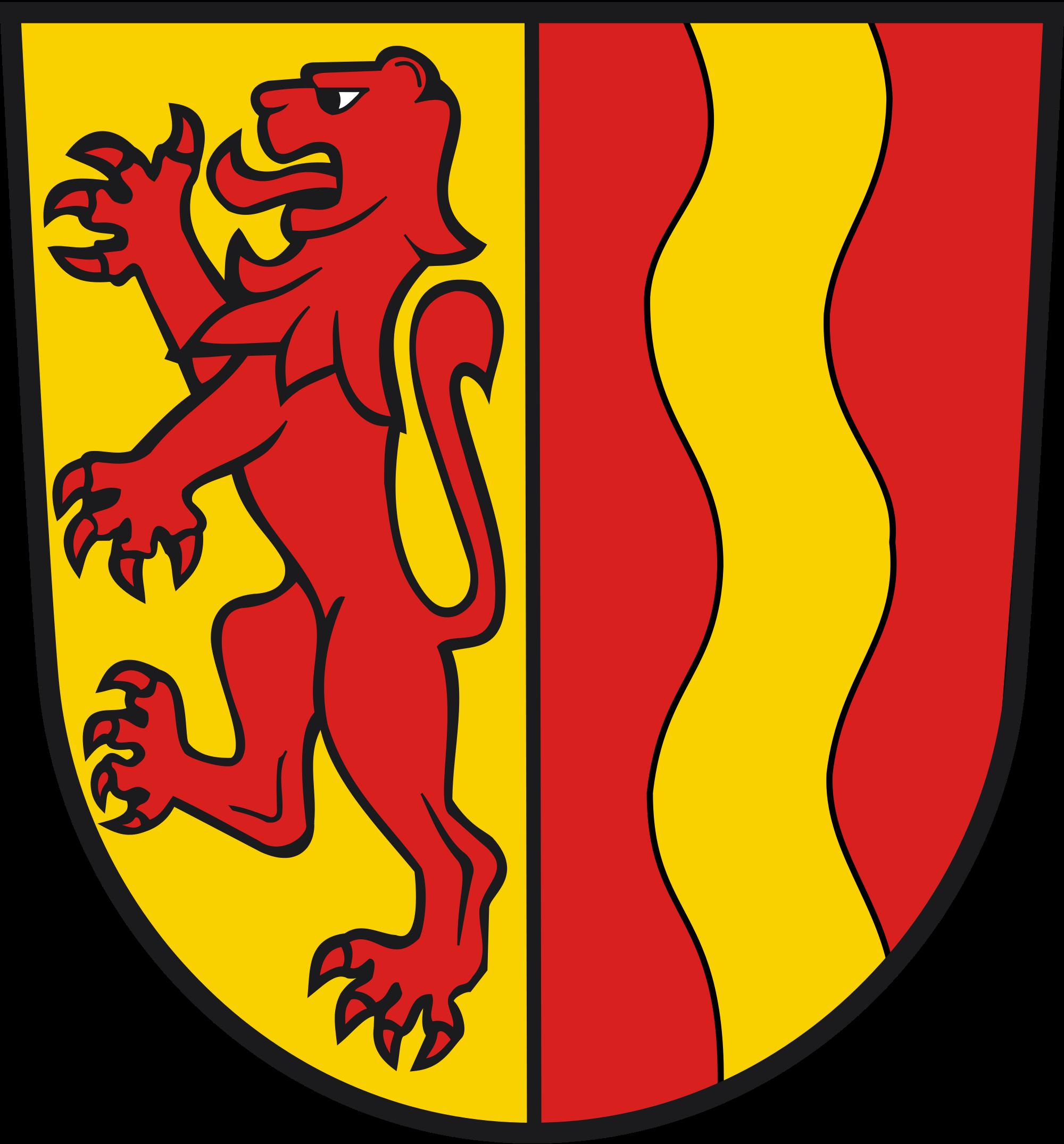 File wappen dettingen an. German clipart wavy