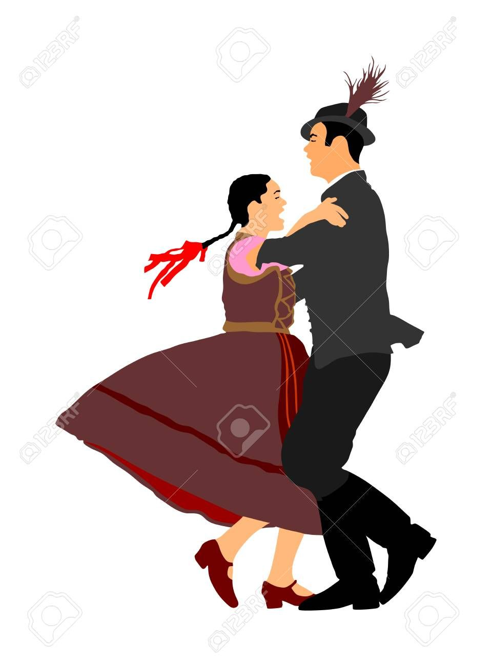 Germany clipart dance german. Notes folk federation of