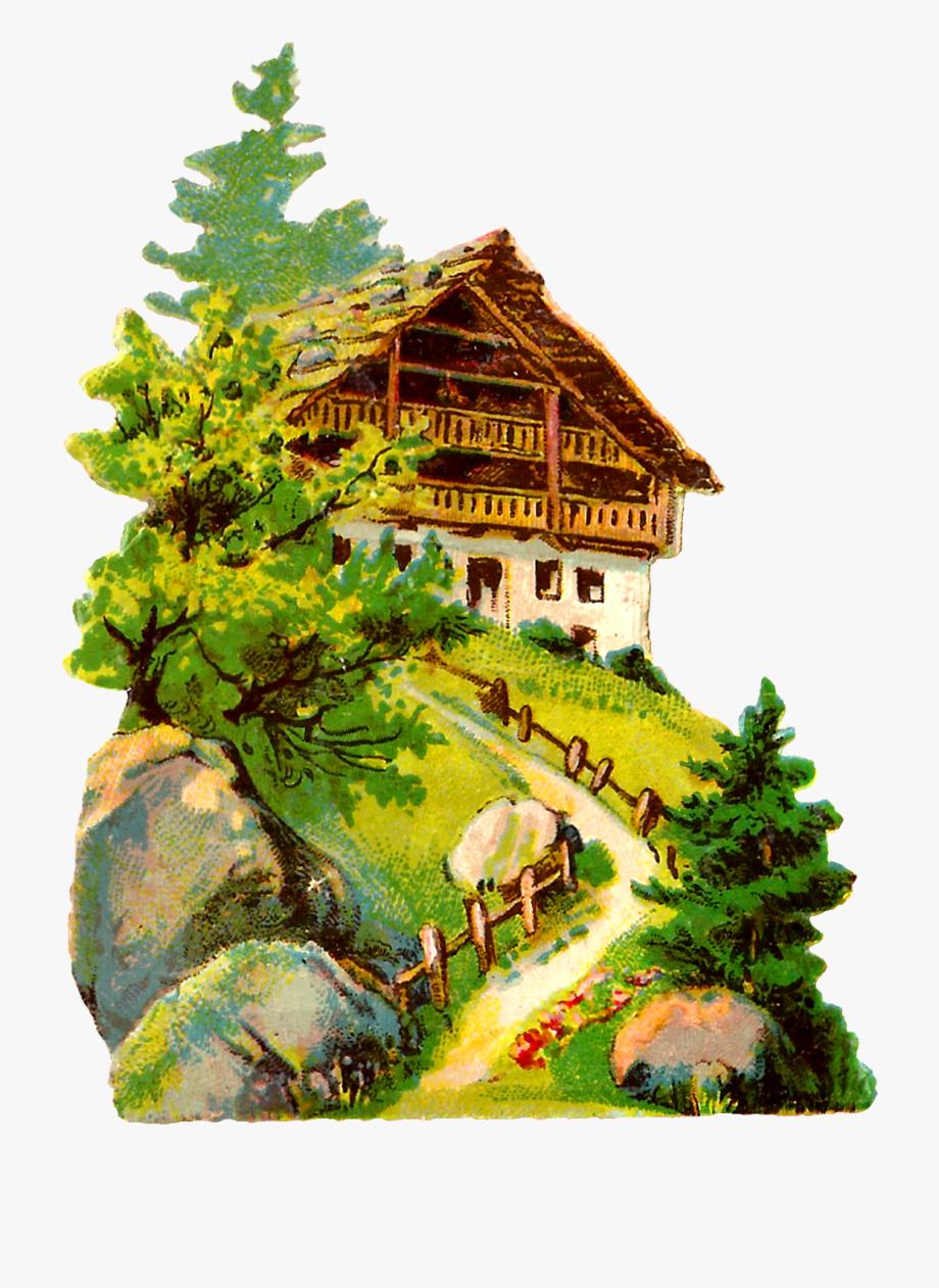 German vintage architecture clip. Germany clipart landscape germany