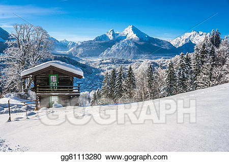 Germany clipart landscape germany. Drawing idyllic in the