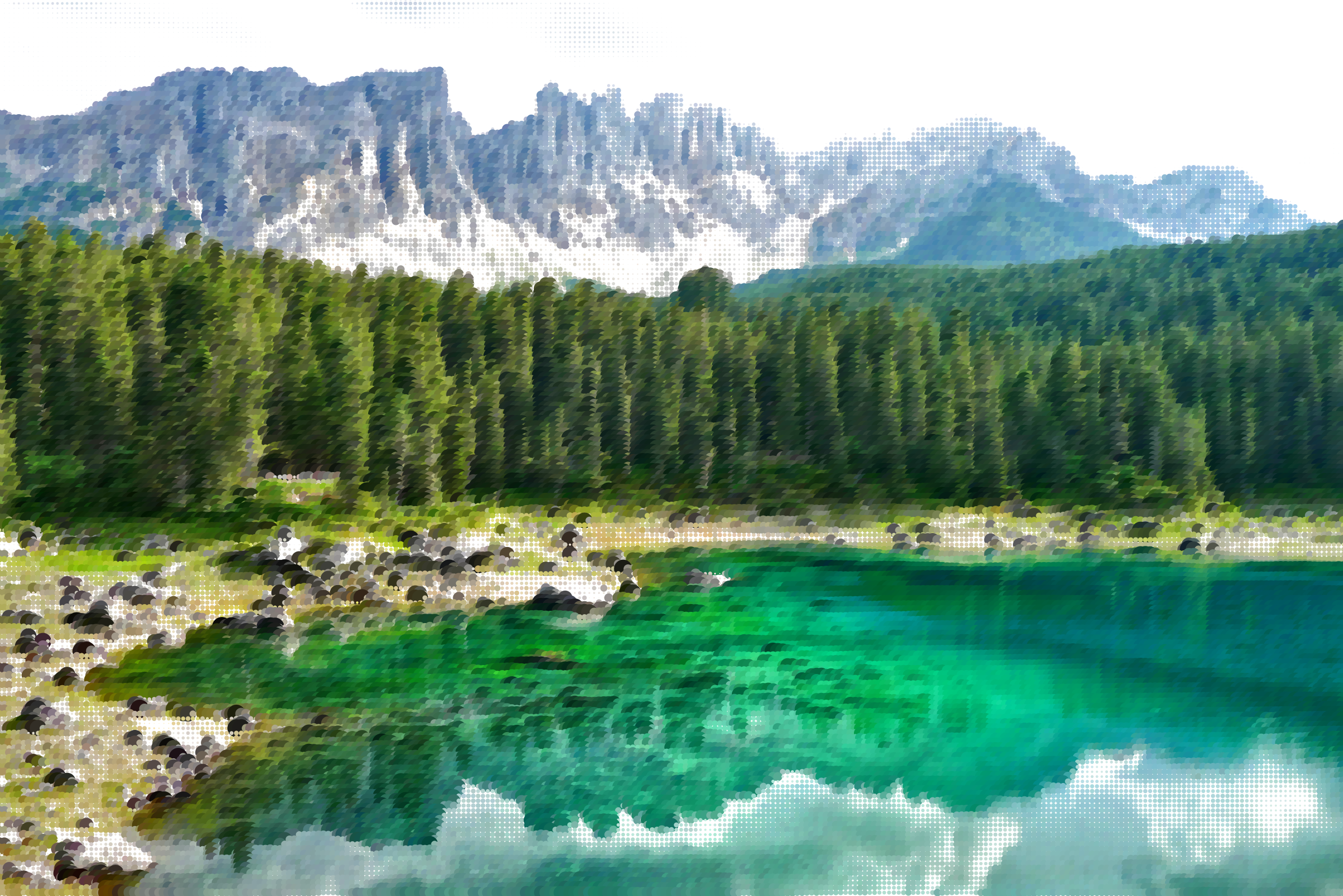 Germany clipart landscape germany. Surreal bergsee lake big