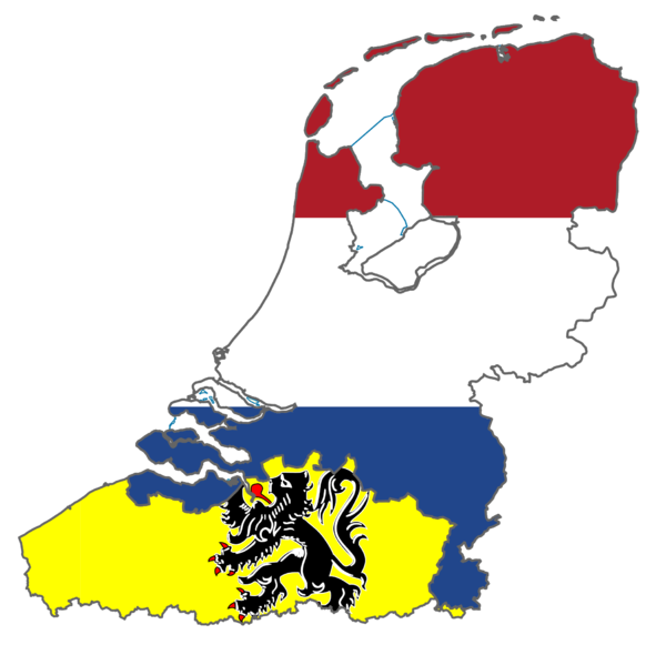 Germany clipart map 1933. Greater netherlands wikiwand flag