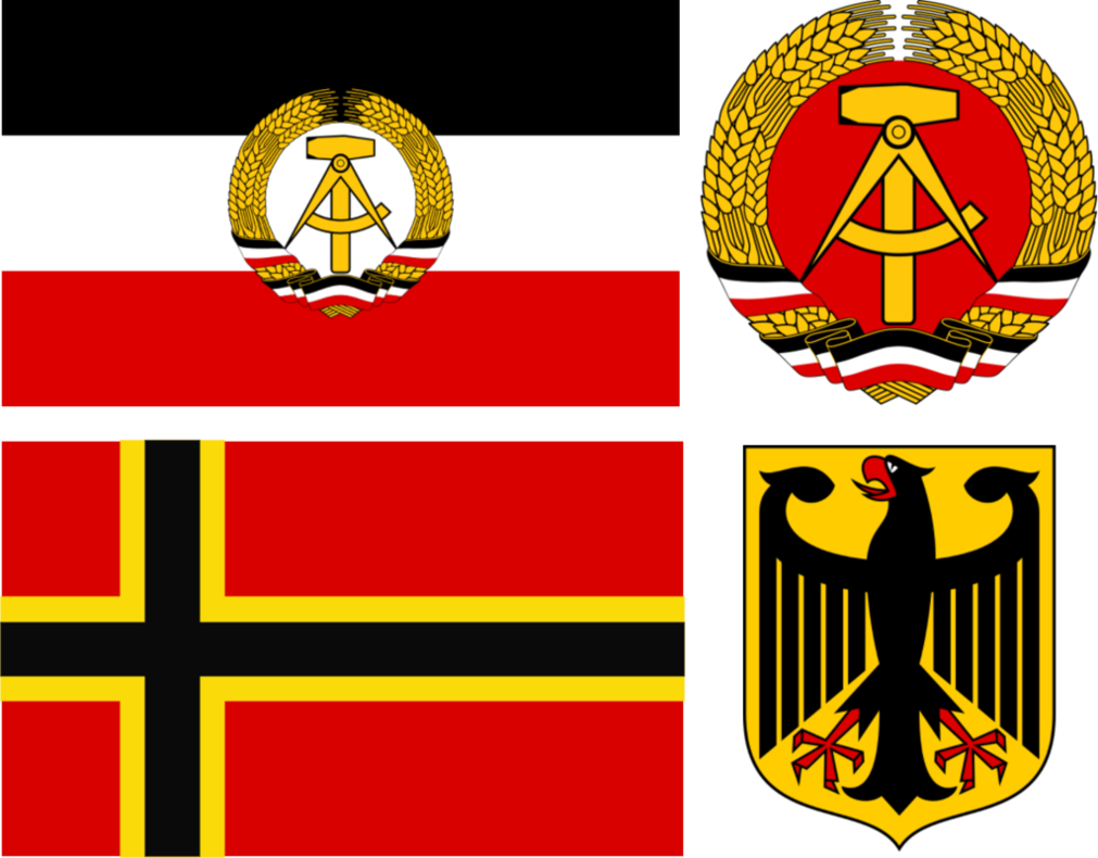 Germany clipart weimer. East and west alternate