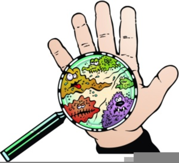 Fighting free images at. Germs clipart