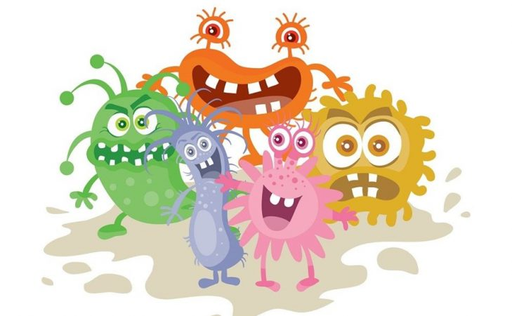Bacteria at home can. Germs clipart bacterial growth