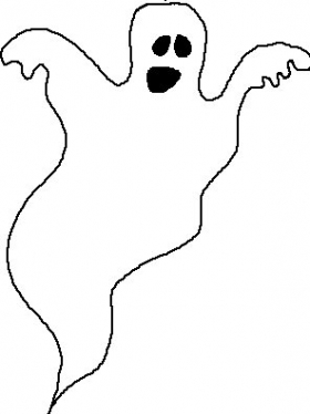 Ghost clipart. Halloween panda free images