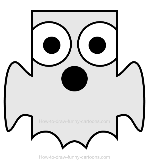 How to draw a. Ghost clipart