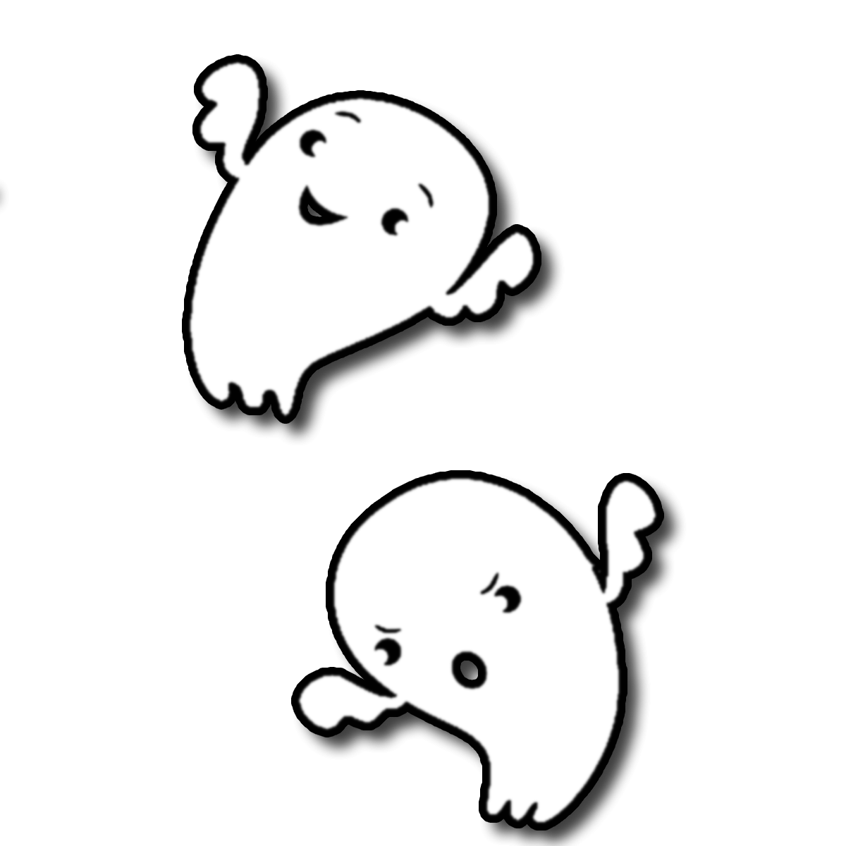 Ghost clipart blank background. Free transparent png download