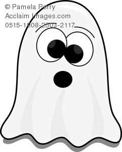 Clip art image of. Ghost clipart cartoon