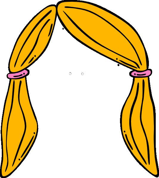 Gum clipart hair clipart. Blonde