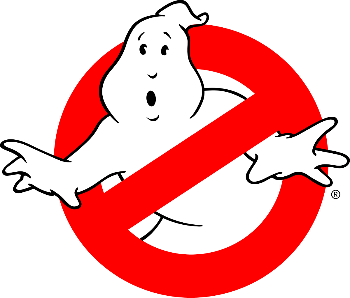 Ghost clipart logo. Busters text transparent png