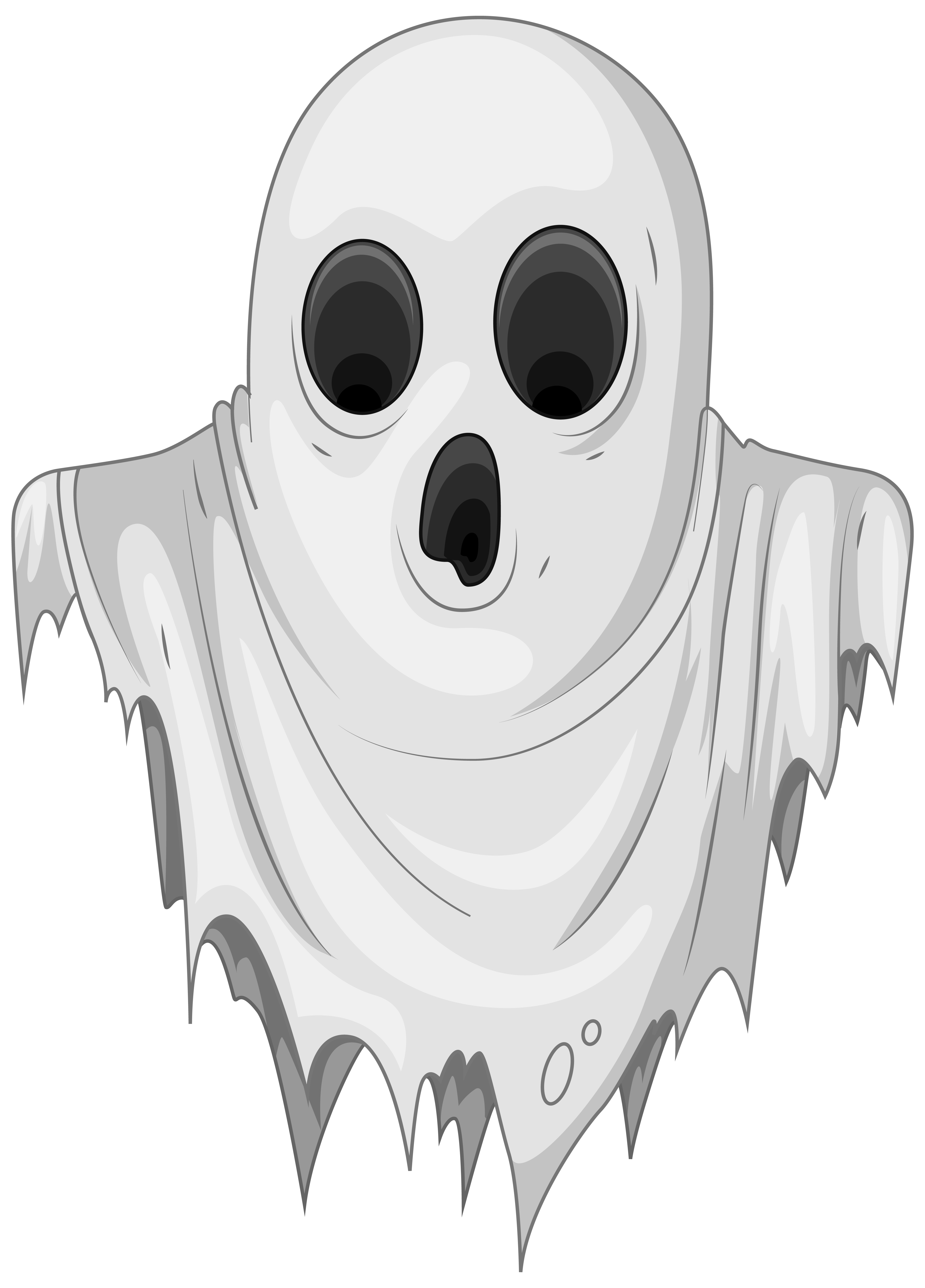 Ghost clipart realistic. Computer icons clip art