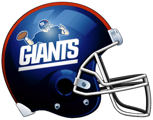 Giants helmet png. New york concept logo