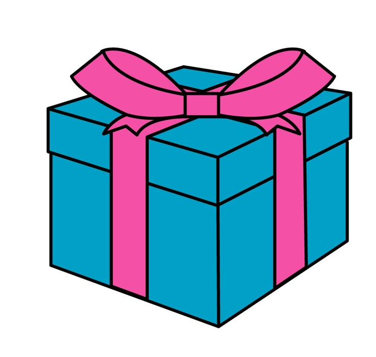 Free gift pictures download. Clipart present regalo