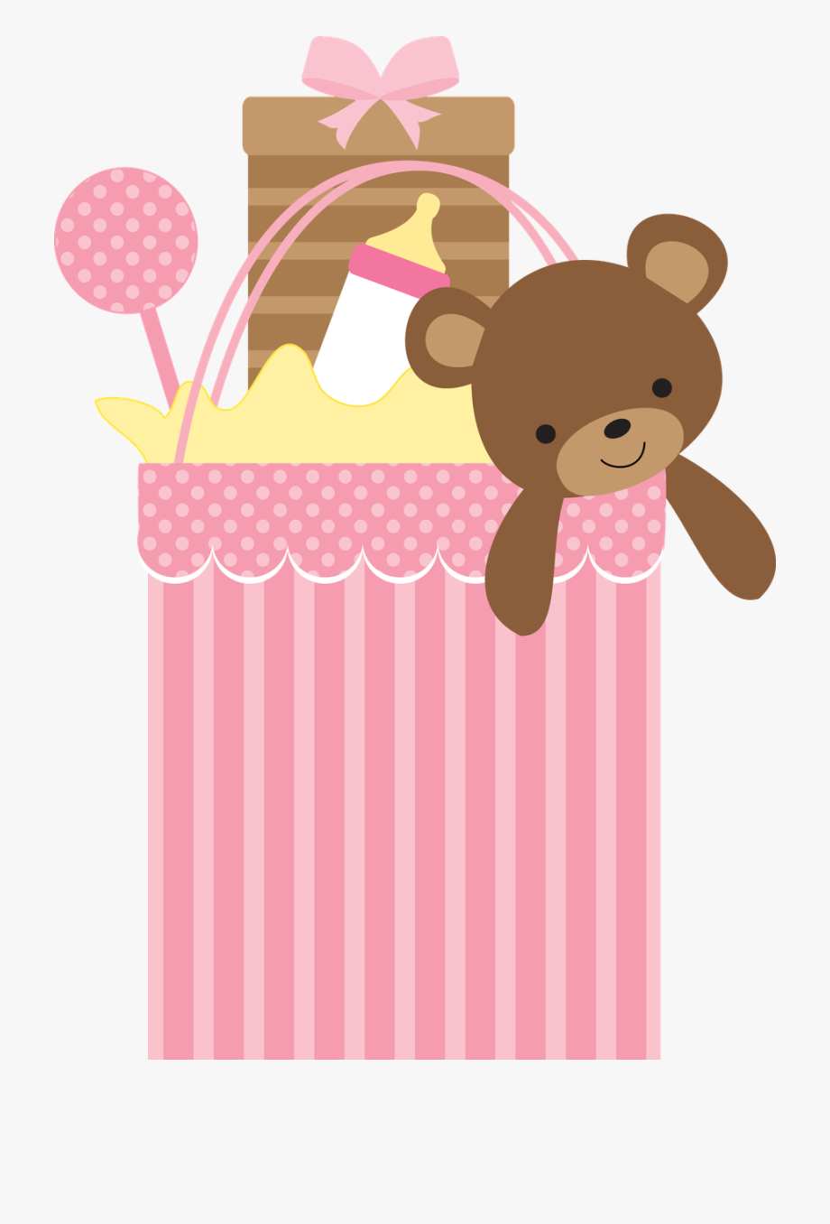 Gift clipart baby shower gift. Cute and illustrations