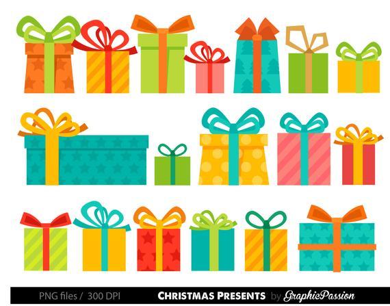 Gift clipart birhday. Presents christmas birthday gifts