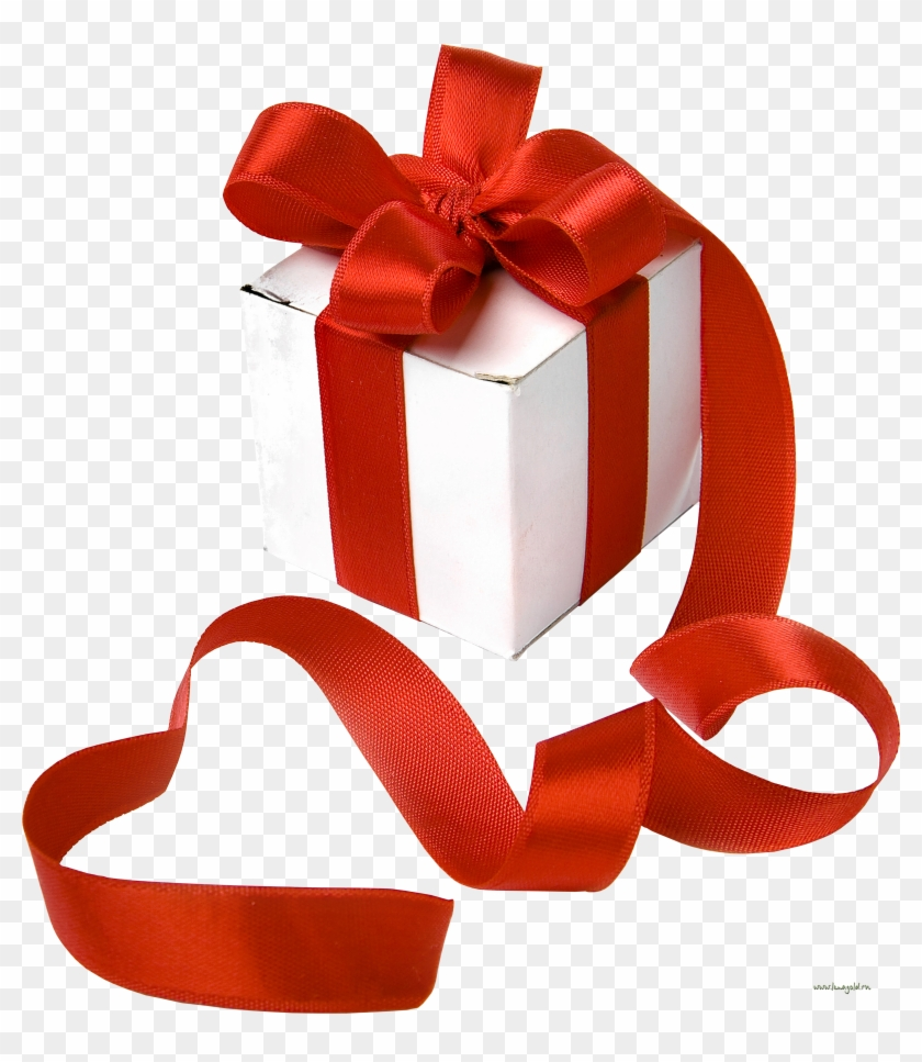 Present white box with. Gifts clipart birthday accessory