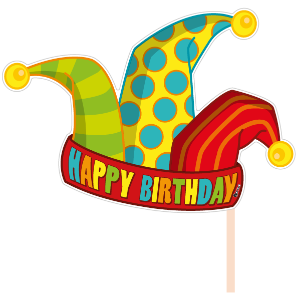 Gifts clipart birthday accessory. Party photobooth props figure