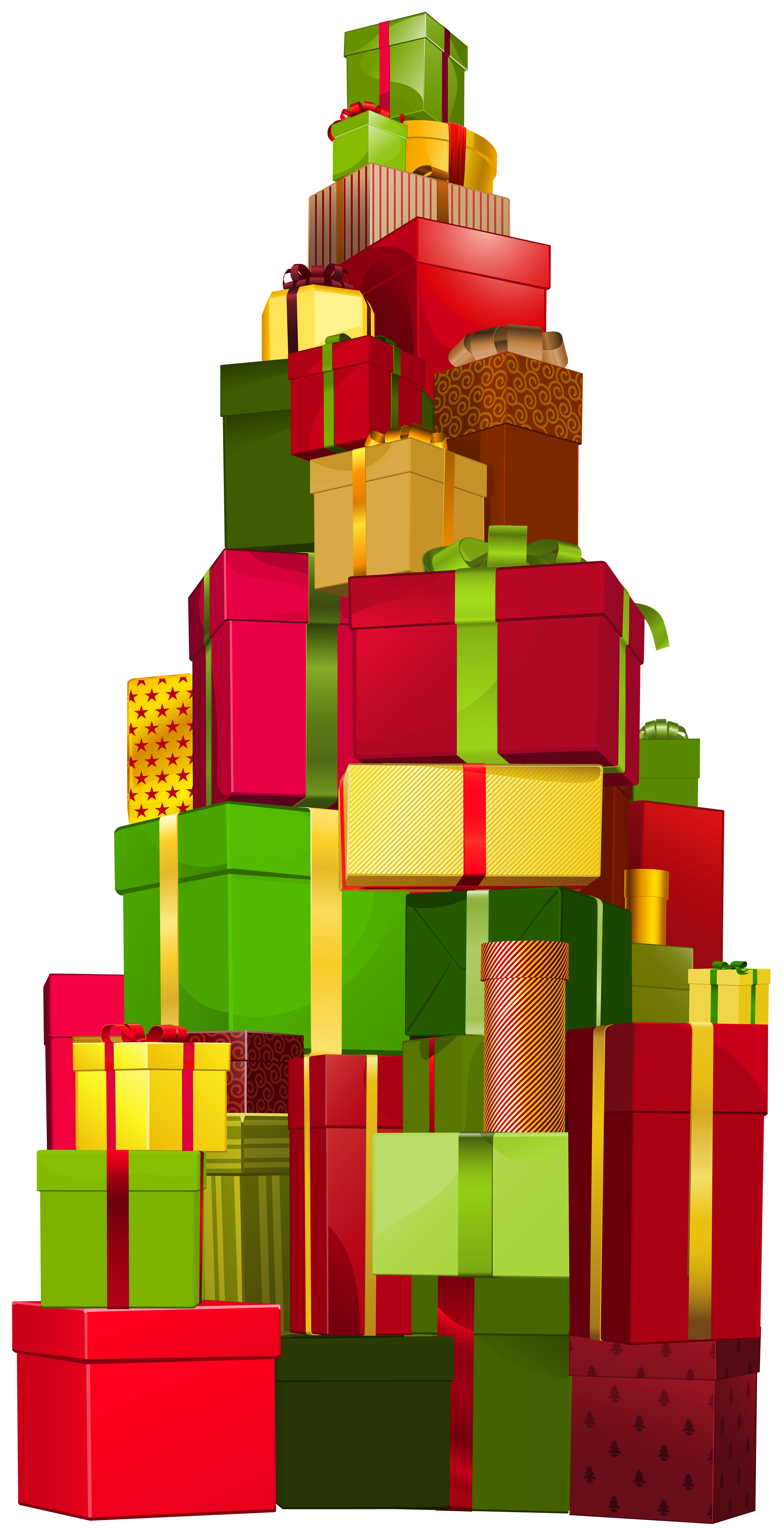 Of gifts png clip. Gift clipart bunch