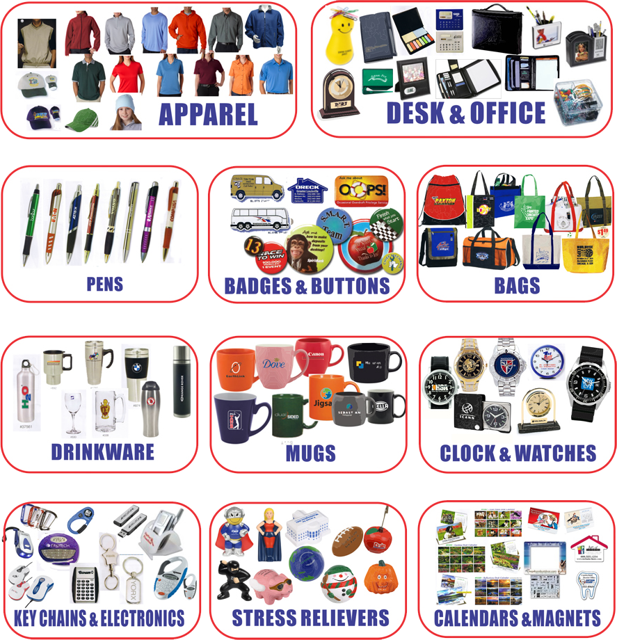 Gift clipart gift item. Promotional products with logos