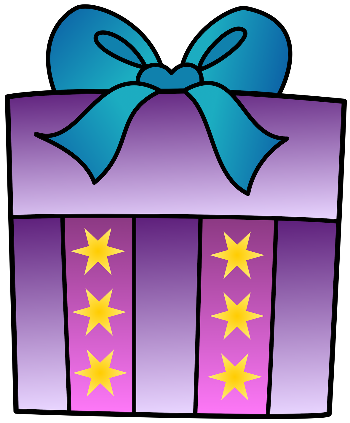 Gift clipart happy birthday. Present vector labs anivers