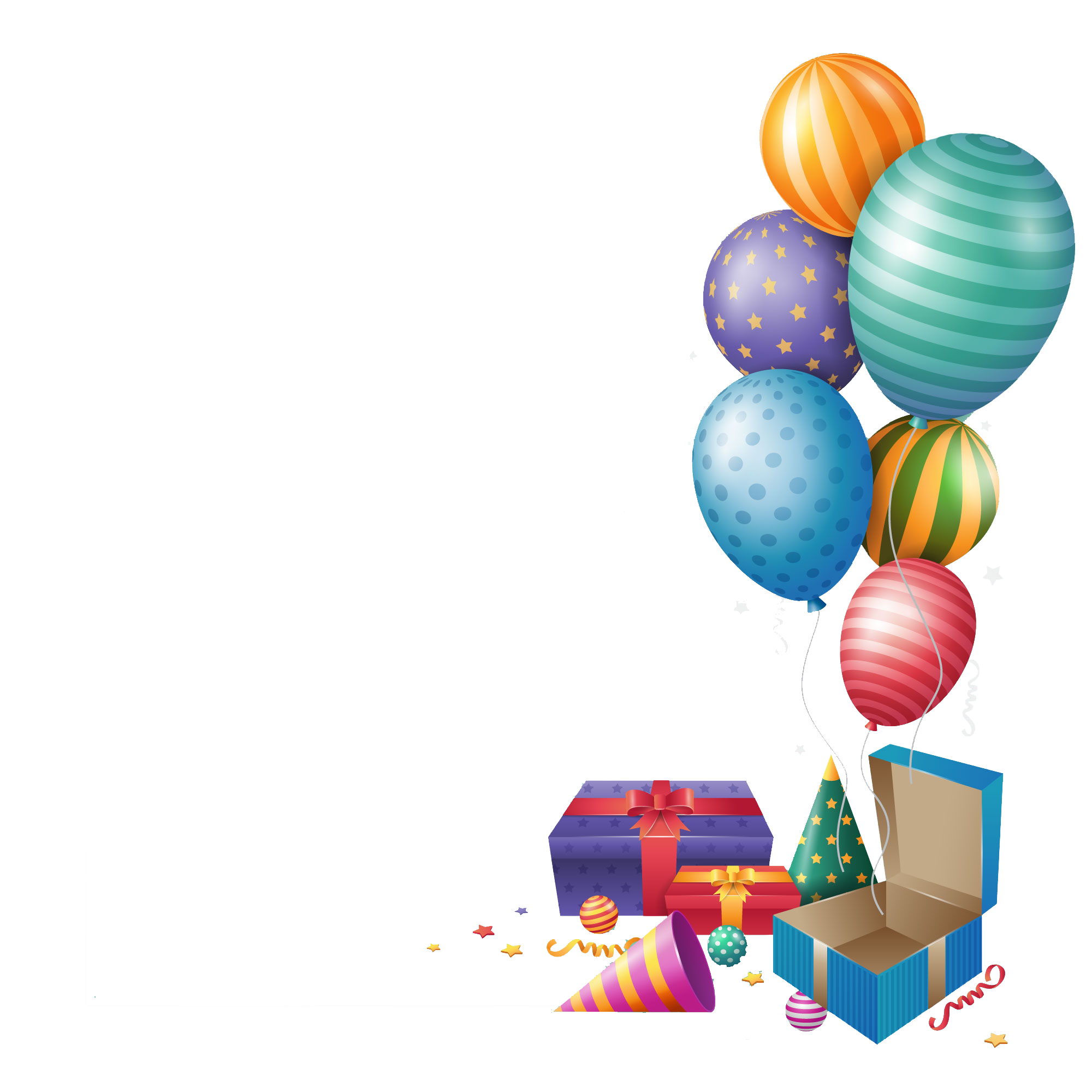 Gift clipart house png. Happy birthday balloons peoplepng