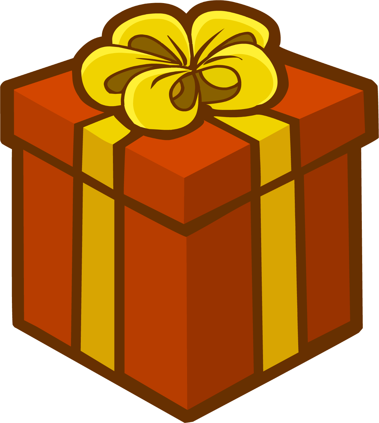 Gift clipart house png. Image holiday emoticons club