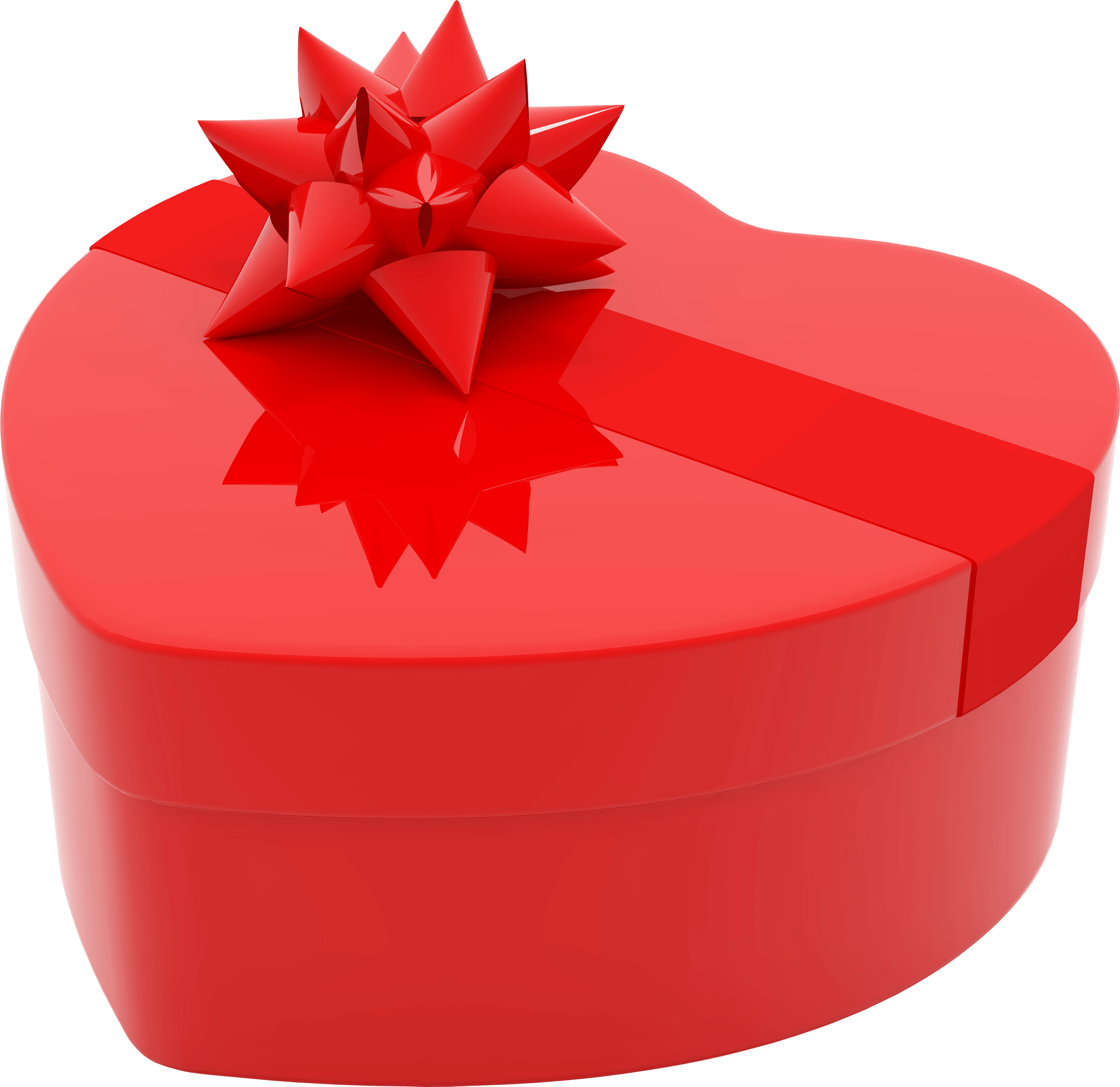 Heart red transparent png. Gift clipart love gift