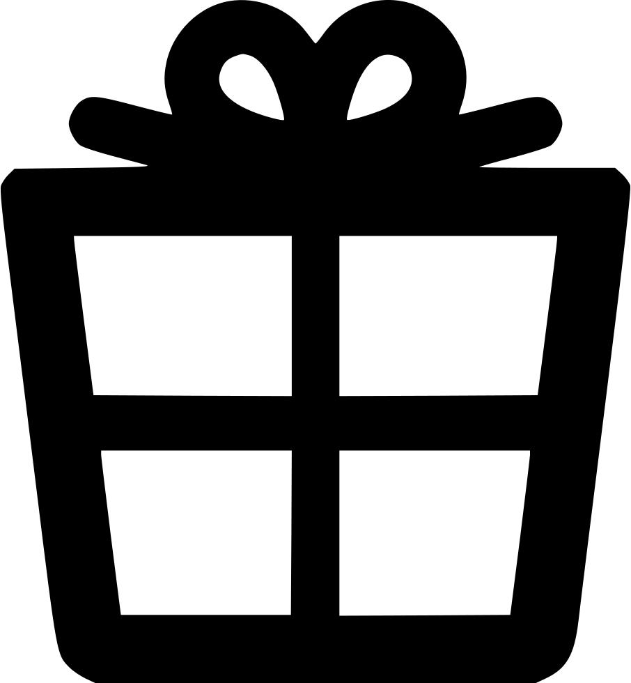 Alt svg png icon. Gift clipart present outline
