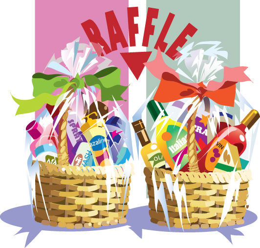 Raffle clipart goodie basket. Several cg restaurants ready